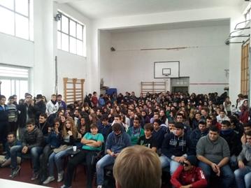 Il video dell'incontro Giorgianni - studenti