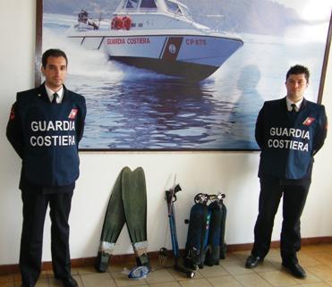 Pesca illegale, stangato sub