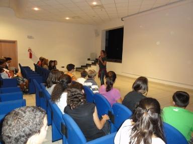 Gli studenti hanno incontrato Giovanna Taviani