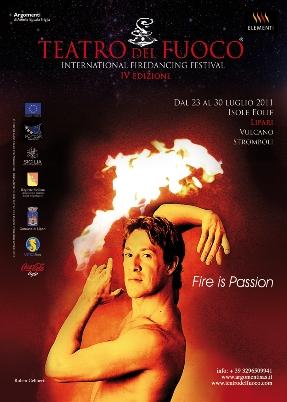 """""""Teatro del fuoco"""" a Lipari, Stromboli e Vulcano"""