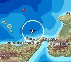 Scossa di terremoto tra le Eolie e Villafranca