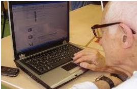 """"""" U vecchiu e u computer """""""