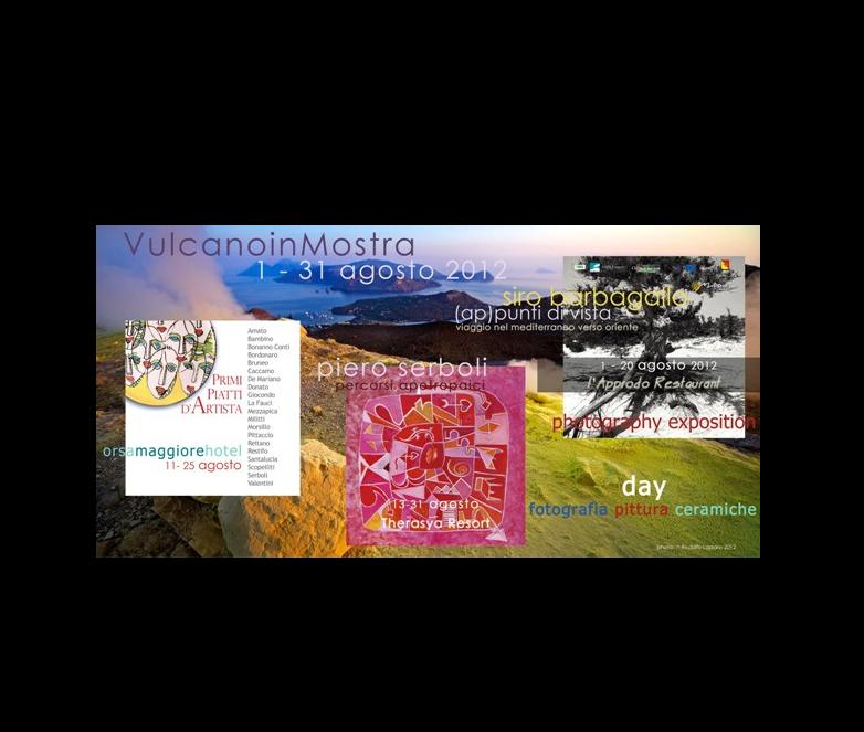 Fotografia, pittura e ceramiche d'autore a Vulcano